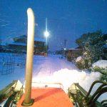 今年初の積雪(^O^)