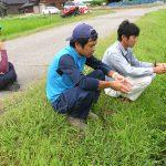 自然栽培の勉強に出かけました(^^)/~~~