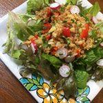 ミネラルたっぷり玄米サラダはいかがですか(^○^)