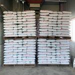 来年使用の有機肥料560袋