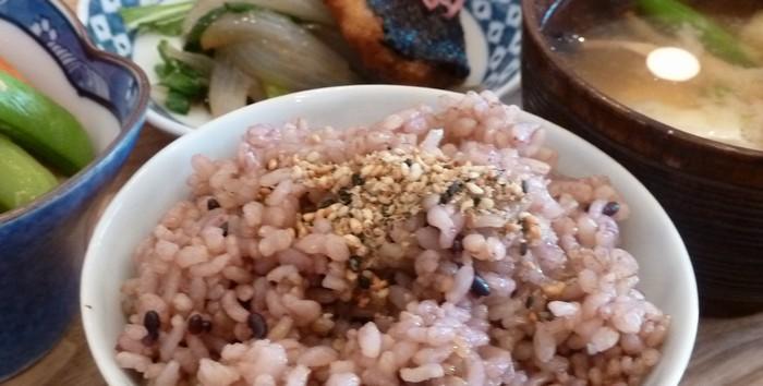 玄米ご飯てんてんの玄米ごはん