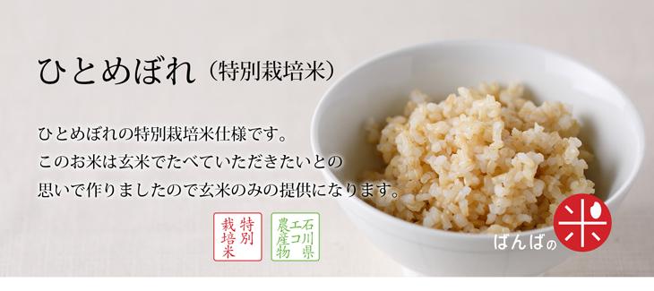 ひとめぼれ(特別栽培米)